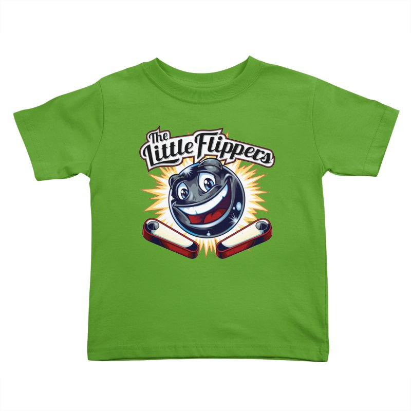 The Little Flippers Kids Toddler T-Shirt by The Flipper Room Shop