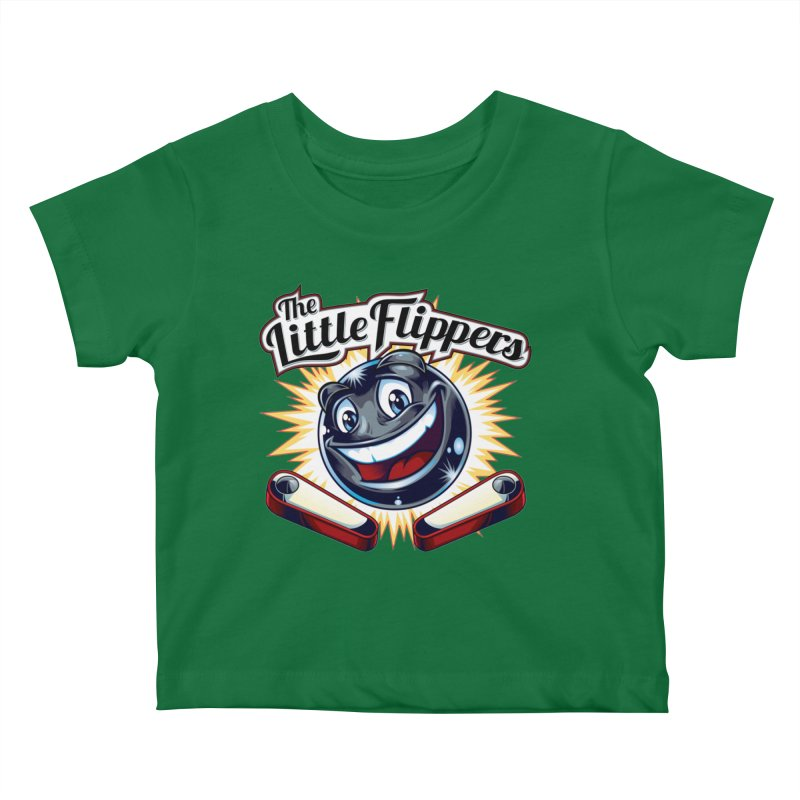 The Little Flippers Kids Baby T-Shirt by The Flipper Room Shop