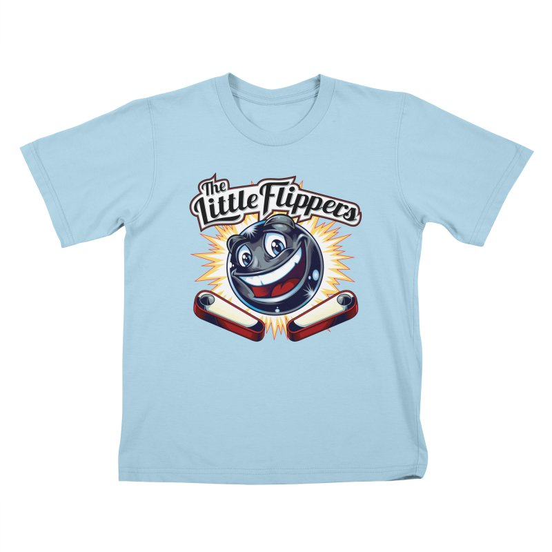 The Little Flippers Kids T-Shirt by The Flipper Room Shop