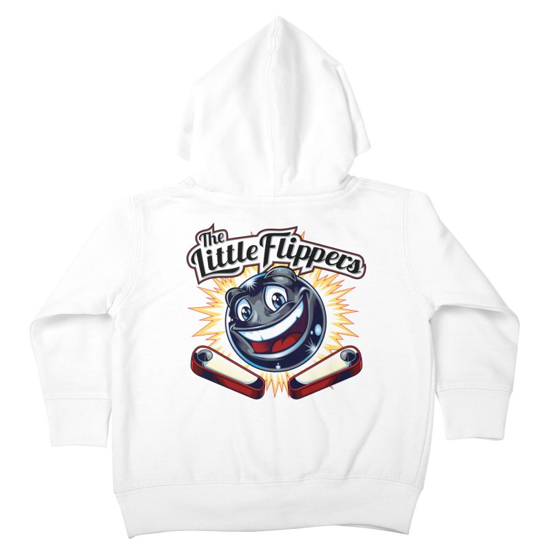 The Little Flippers Kids Toddler Zip-Up Hoody by The Flipper Room Shop