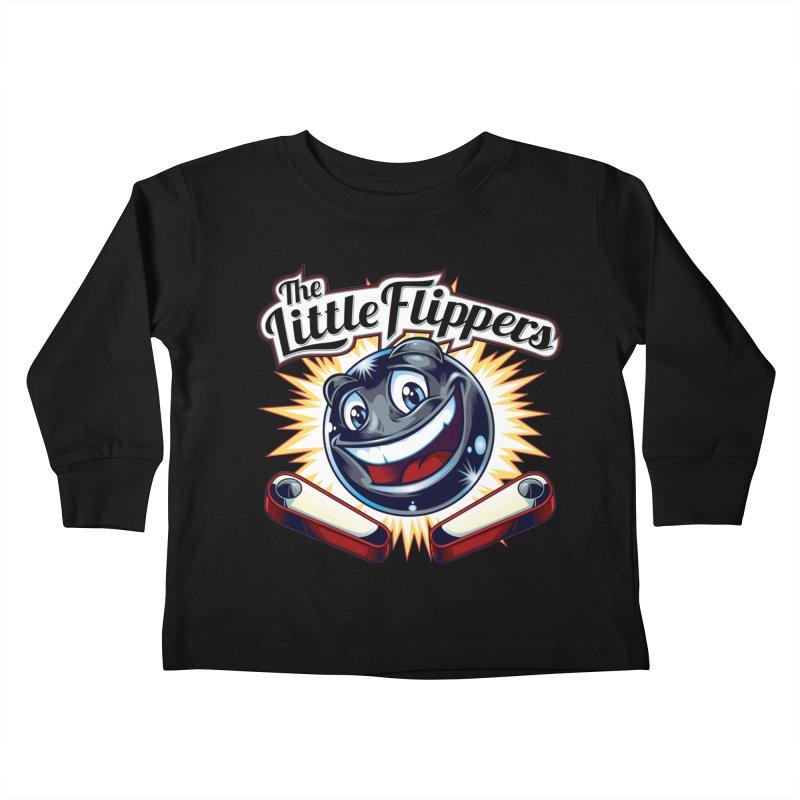 The Little Flippers Kids Toddler Longsleeve T-Shirt by The Flipper Room Shop