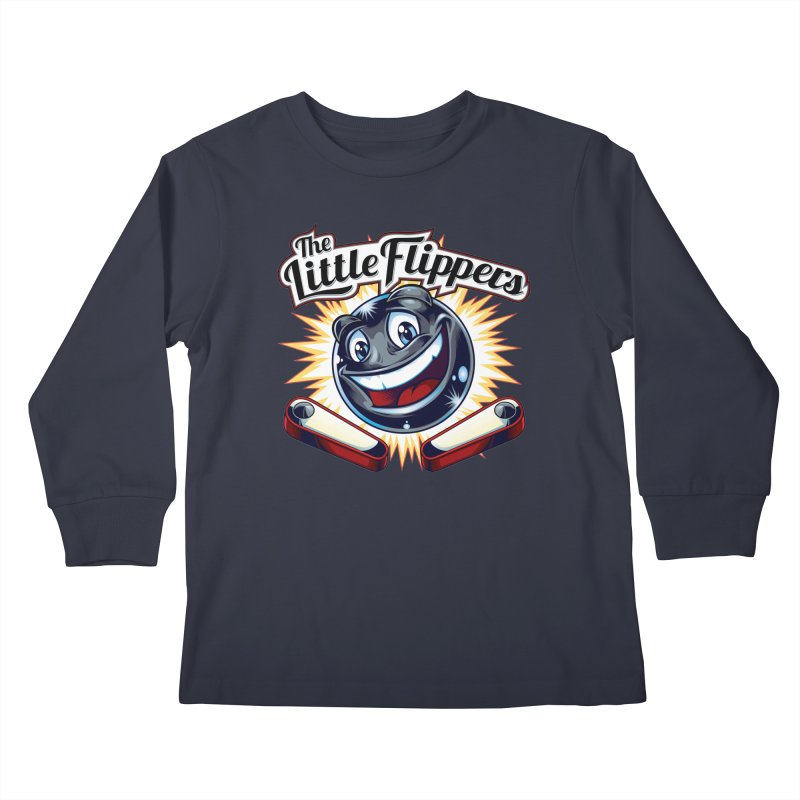The Little Flippers Kids Longsleeve T-Shirt by The Flipper Room Shop