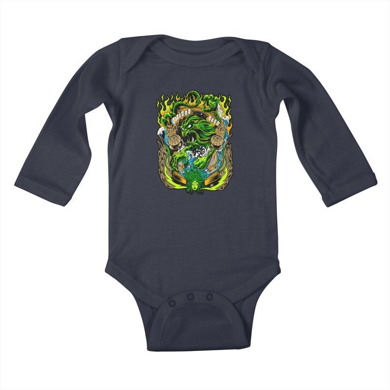 TFR by Dirty Donny Kids Baby Longsleeve Bodysuit by The Flipper Room Shop