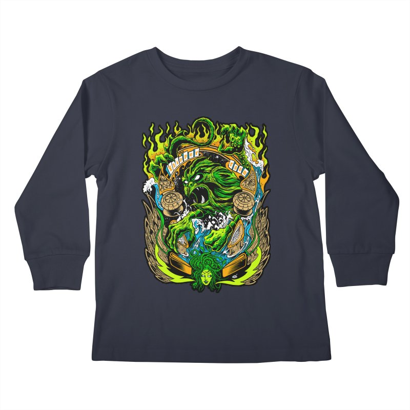 TFR by Dirty Donny Kids Longsleeve T-Shirt by The Flipper Room Shop