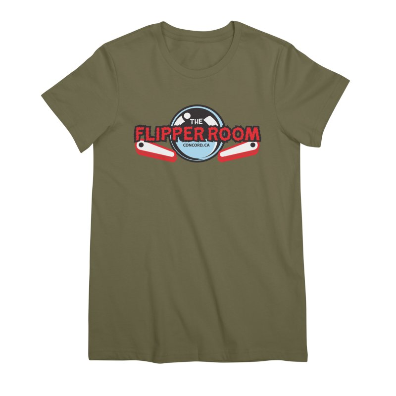 Flippers and Ball Women's T-Shirt by The Flipper Room Shop
