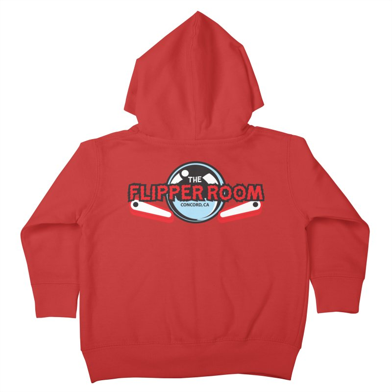 Flippers and Ball Kids Toddler Zip-Up Hoody by The Flipper Room Shop