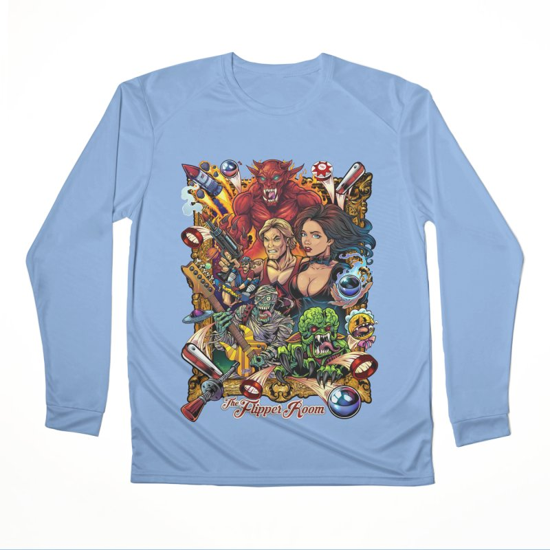 Pinball Portrait Women's Longsleeve T-Shirt by The Flipper Room Shop
