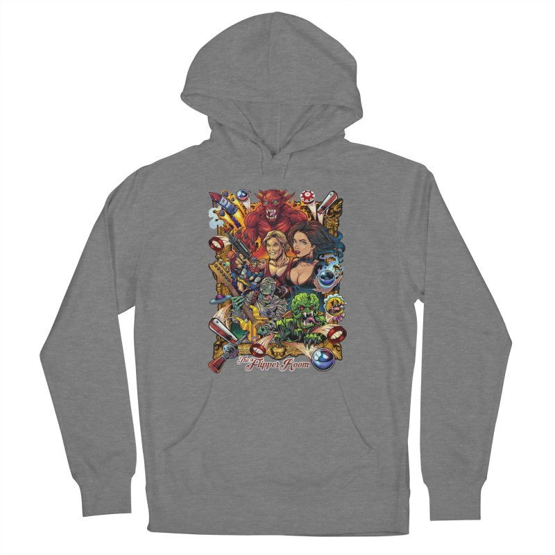 Pinball Portrait Women's Pullover Hoody by The Flipper Room Shop