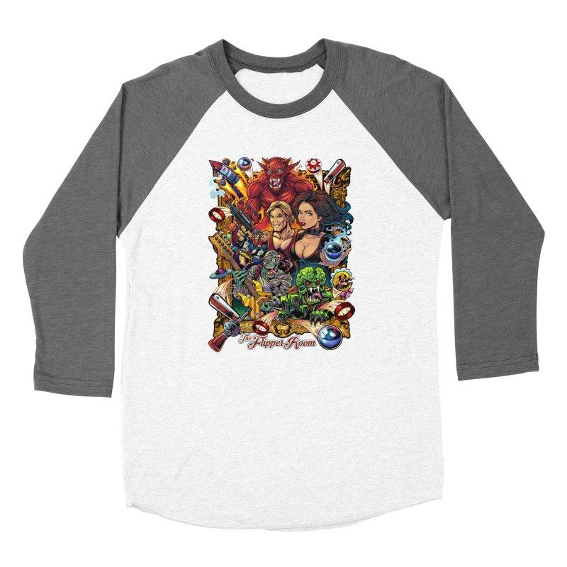 Pinball Portrait Women's Longsleeve T-Shirt by The Flipper Room Shop