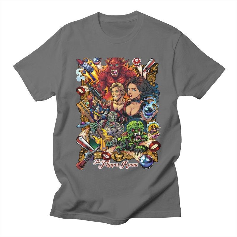 Pinball Portrait Women's T-Shirt by The Flipper Room Shop