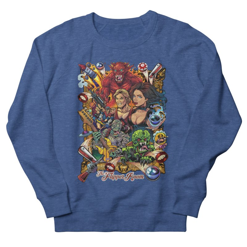 Pinball Portrait Men's Sweatshirt by The Flipper Room Shop
