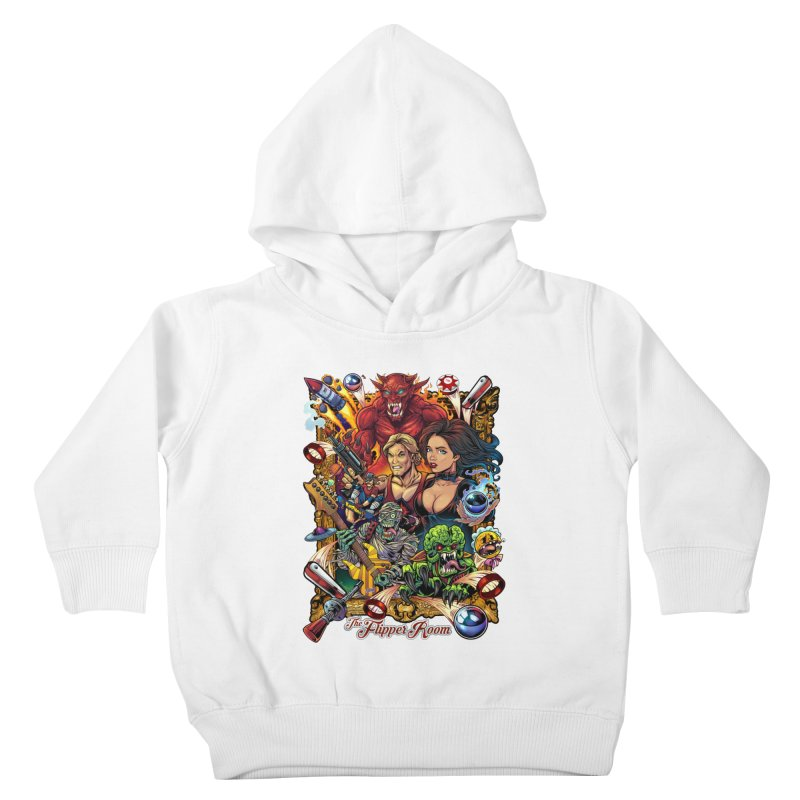 Pinball Portrait Kids Toddler Pullover Hoody by The Flipper Room Shop