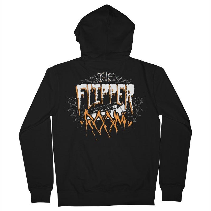TFR Halloween Logo Men's Zip-Up Hoody by The Flipper Room Shop