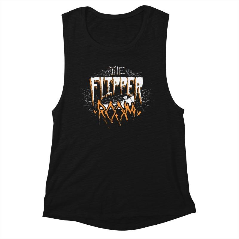 TFR Halloween Logo Women's Tank by The Flipper Room Shop