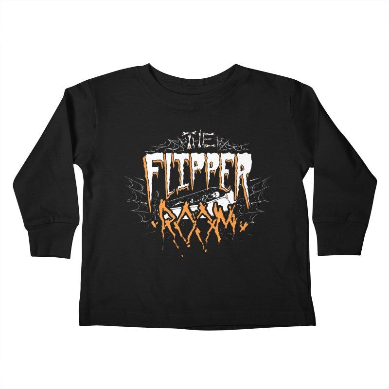 TFR Halloween Logo Kids Toddler Longsleeve T-Shirt by The Flipper Room Shop