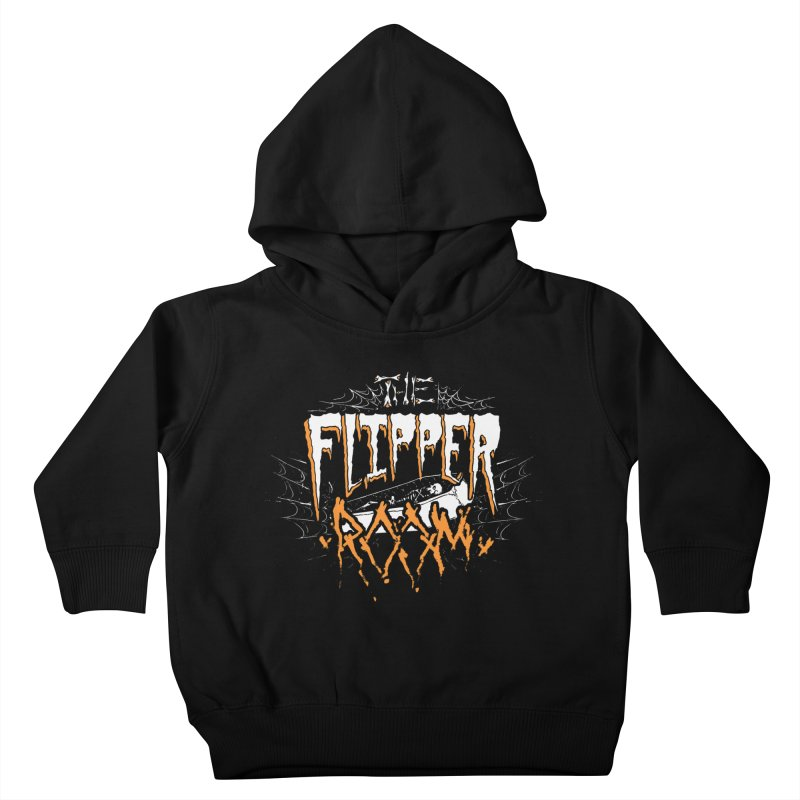 TFR Halloween Logo Kids Toddler Pullover Hoody by The Flipper Room Shop