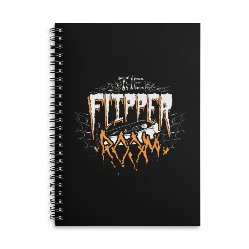 TFR Halloween Logo SWAG Notebook by The Flipper Room Shop
