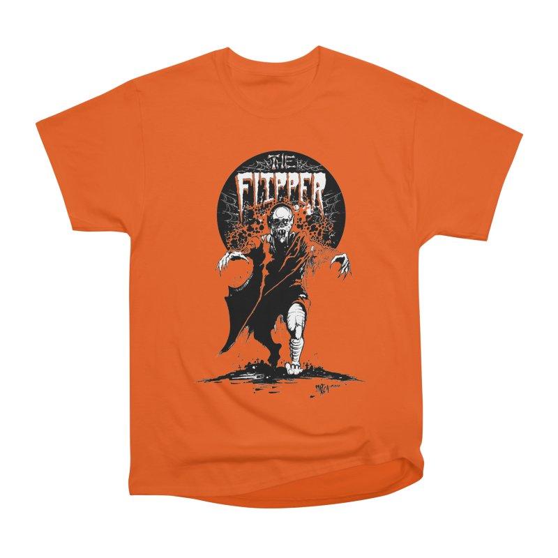Zombie Moon Men's T-Shirt by The Flipper Room Shop