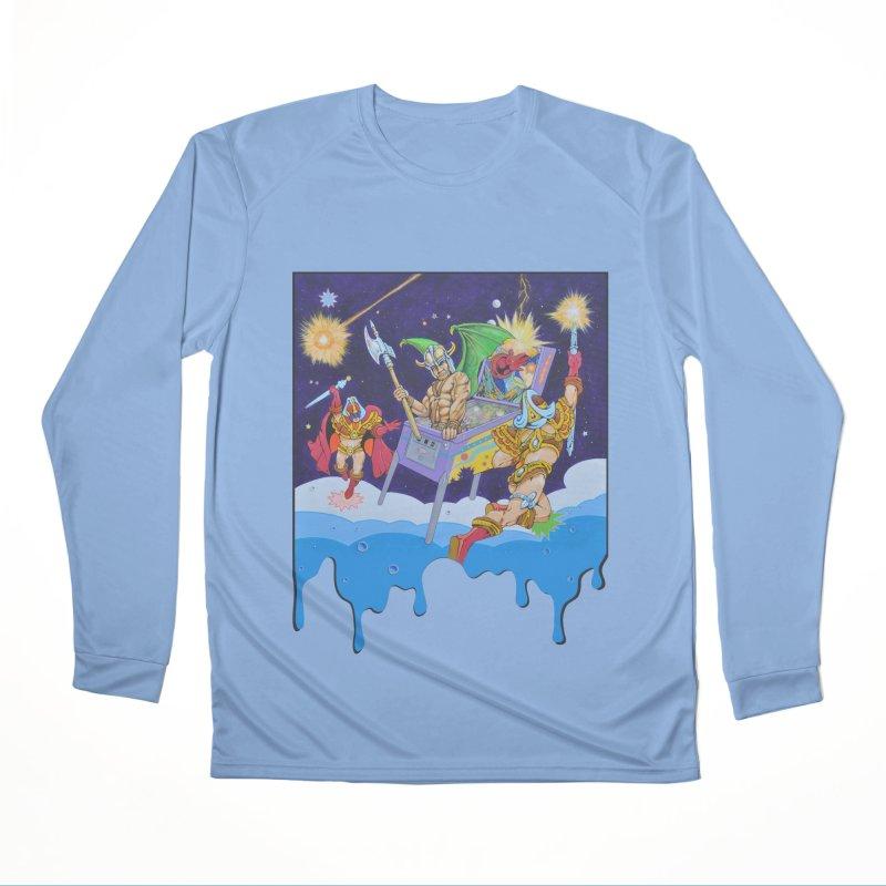 Pinball Vision Women's Longsleeve T-Shirt by The Flipper Room Shop
