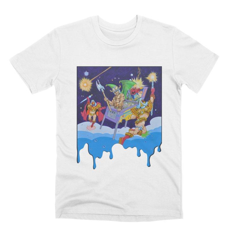 Pinball Dreaming Men's T-Shirt by The Flipper Room Shop