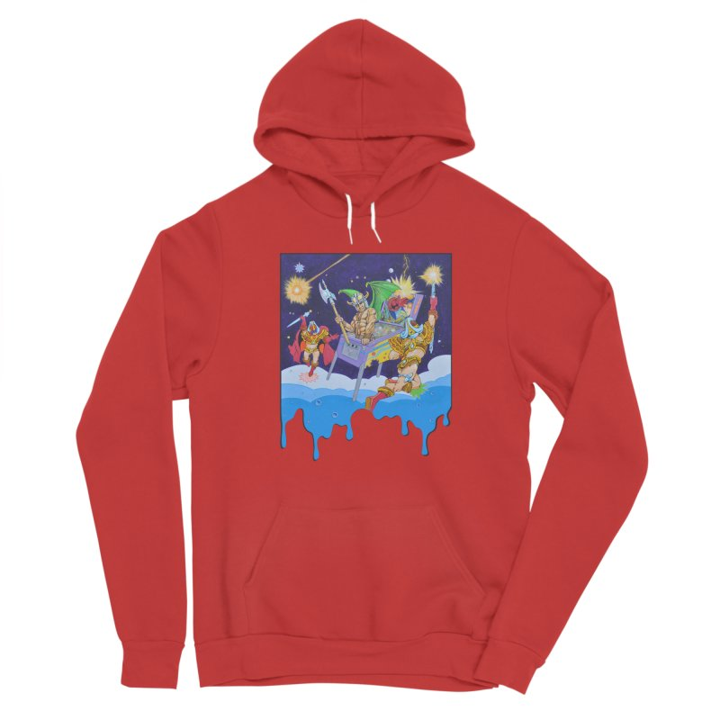 Pinball Dreaming Women's Pullover Hoody by The Flipper Room Shop