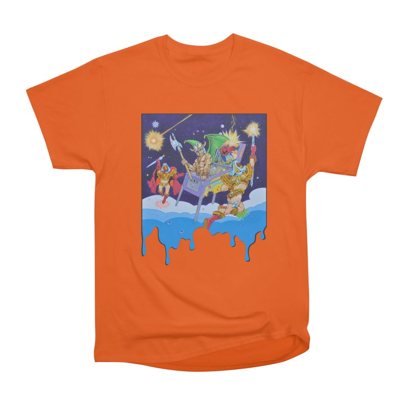 Pinball Vision Men's T-Shirt by The Flipper Room Shop
