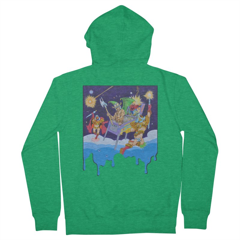Pinball Vision Women's Zip-Up Hoody by The Flipper Room Shop