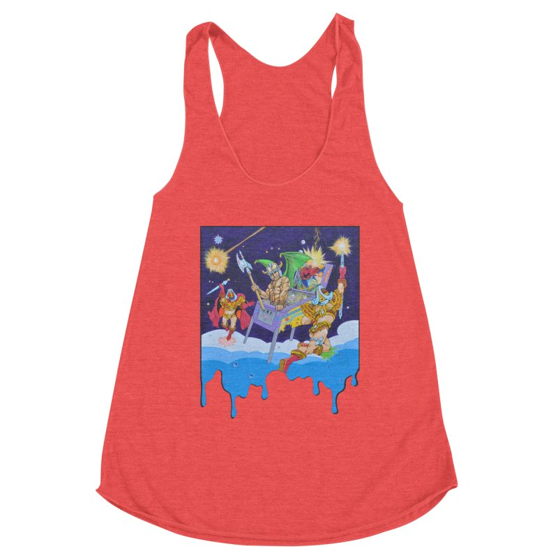 Pinball Vision Women's Tank by The Flipper Room Shop