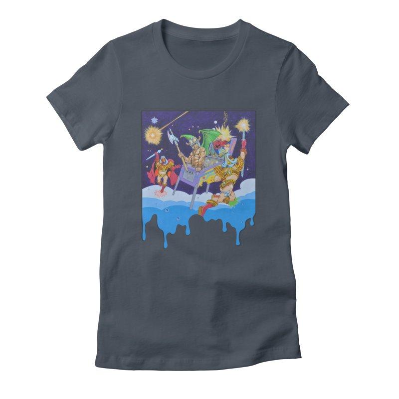 Pinball Dreaming Women's T-Shirt by The Flipper Room Shop
