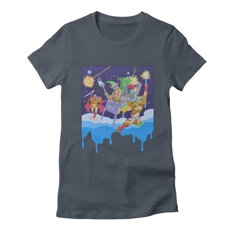 Pinball Vision Women's T-Shirt by The Flipper Room Shop