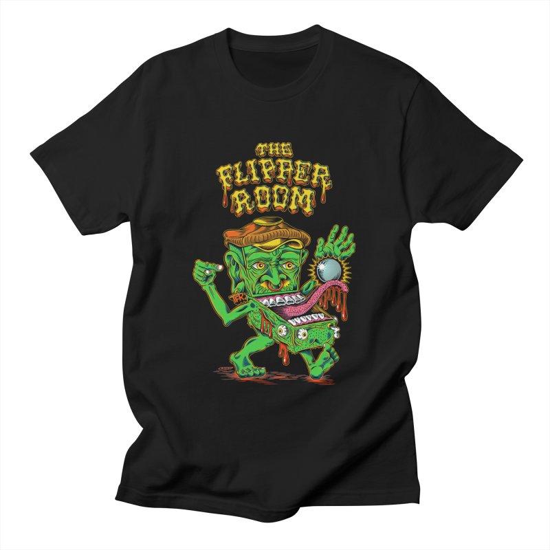 Pinhead Creep (Black Only) Men's T-Shirt by The Flipper Room Shop