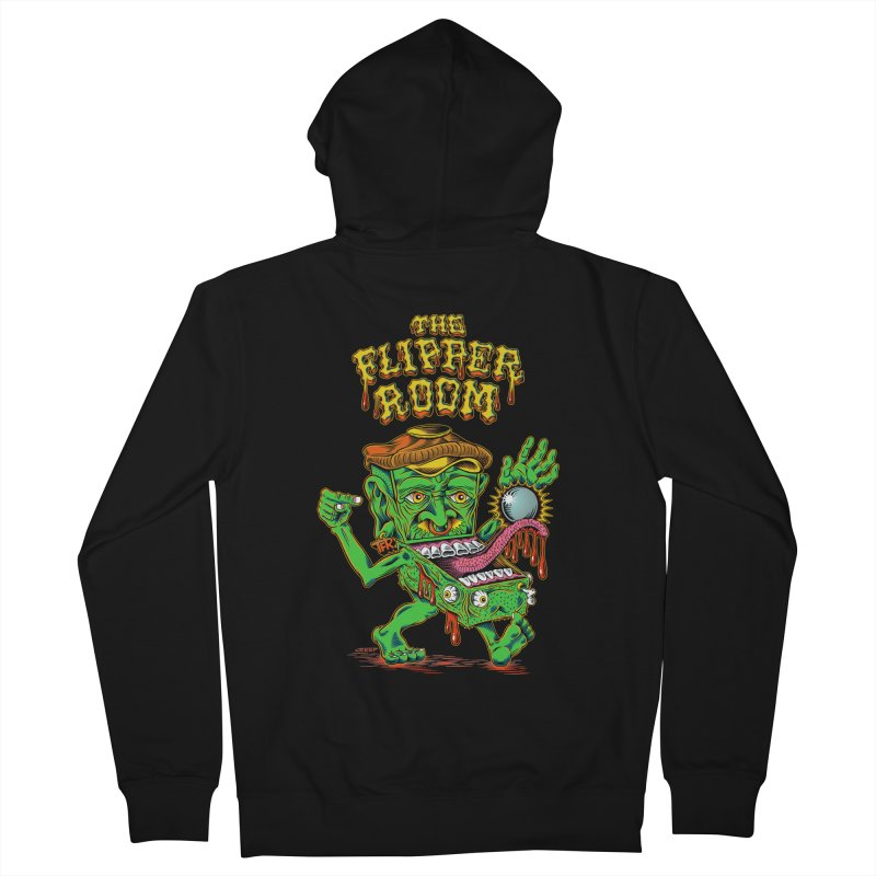 Pinhead Creep (Black Only) Women's Zip-Up Hoody by The Flipper Room Shop