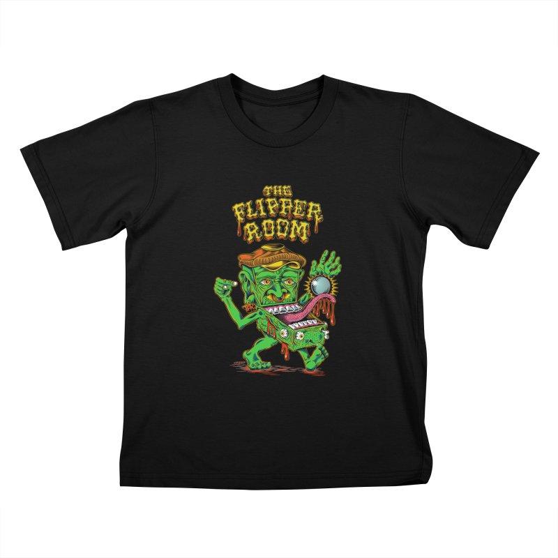 Pinhead Creep (Black Only) Kids T-Shirt by The Flipper Room Shop