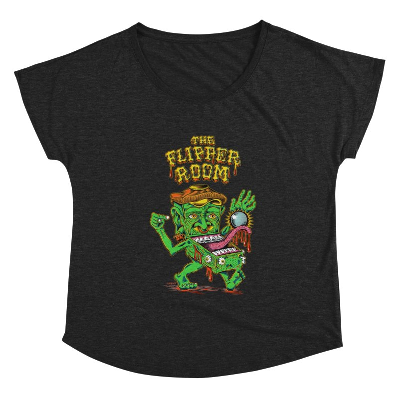 Pinhead Creep (Black Only) Women's Scoop Neck by The Flipper Room Shop