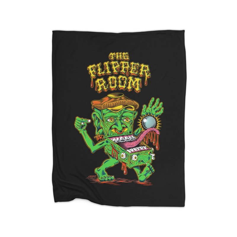 Pinhead Creep (Black Only) Home Blanket by The Flipper Room Shop