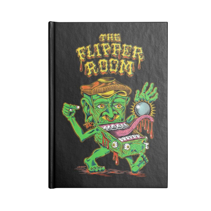 Pinhead Creep (Black Only) SWAG Notebook by The Flipper Room Shop