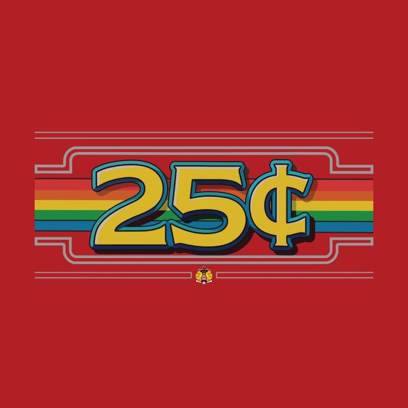 25 Cent Retro1 Men's T-Shirt by The Flipper Room Shop