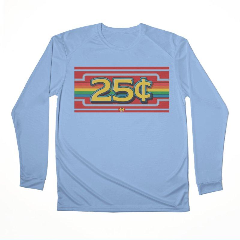 25 Cent Retro1 Women's Longsleeve T-Shirt by The Flipper Room Shop