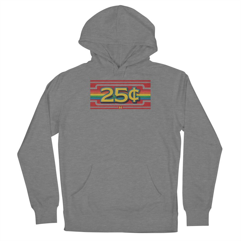 25 Cent Retro1 Women's Pullover Hoody by The Flipper Room Shop