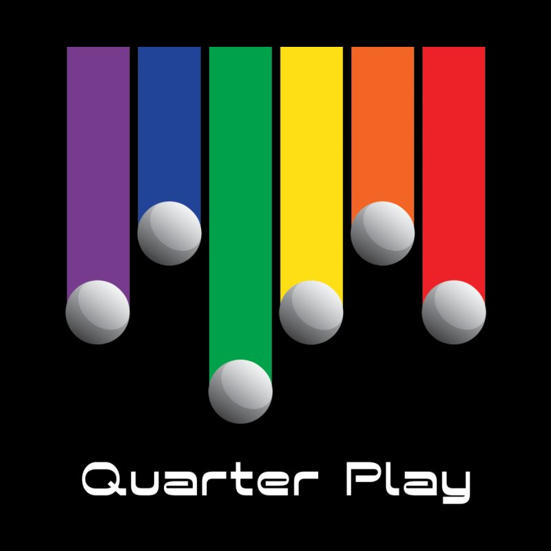 Quarter Play (Minimalist) Home Blanket by The Flipper Room Shop