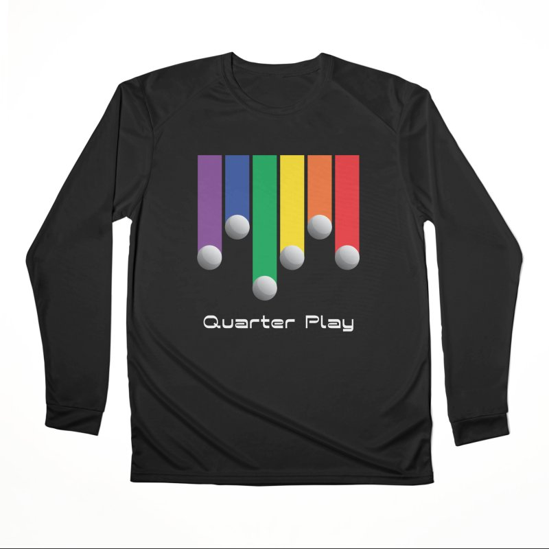 Quarter Play (Minimalist) Women's Longsleeve T-Shirt by The Flipper Room Shop