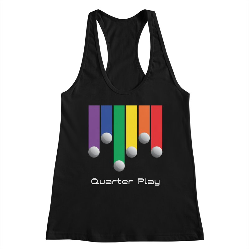 Quarter Play (Minimalist) Women's Tank by The Flipper Room Shop