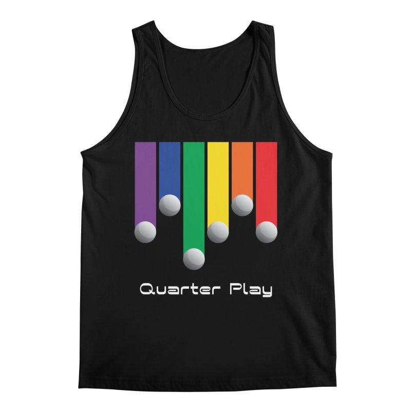 Quarter Play (Minimalist) Men's Tank by The Flipper Room Shop