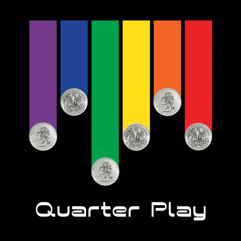 Quarter Play Men's Tank by The Flipper Room Shop