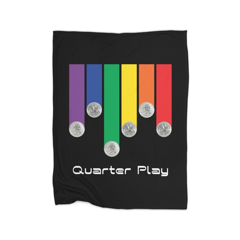 Quarter Play Home Blanket by The Flipper Room Shop