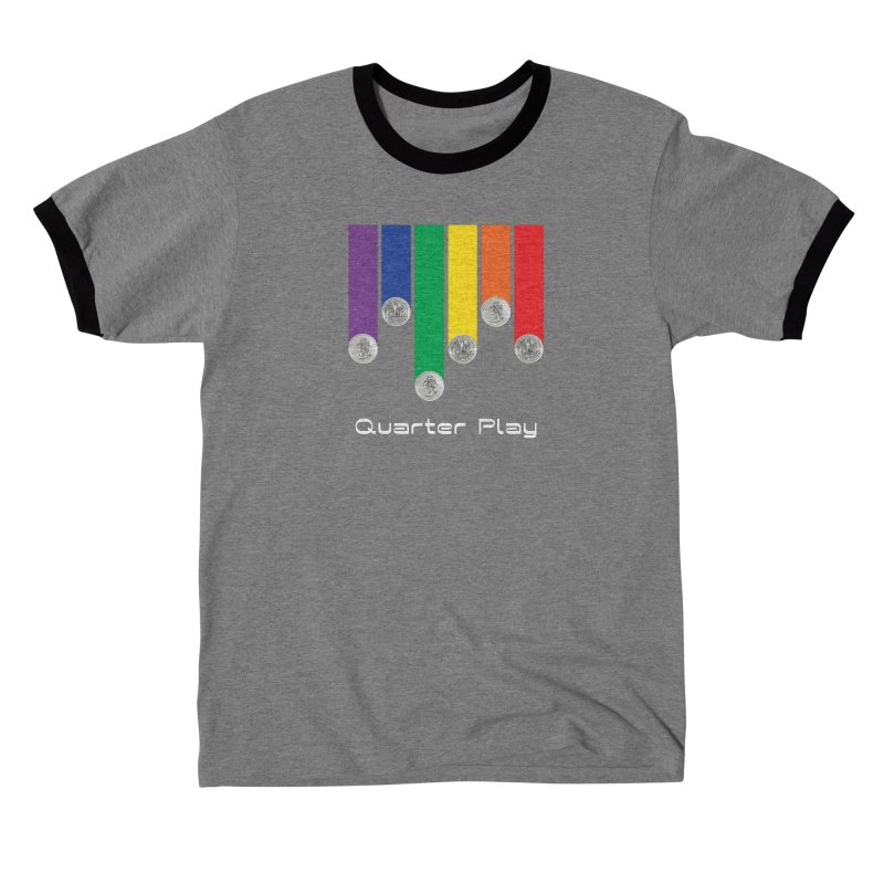 Quarter Play Men's T-Shirt by The Flipper Room Shop