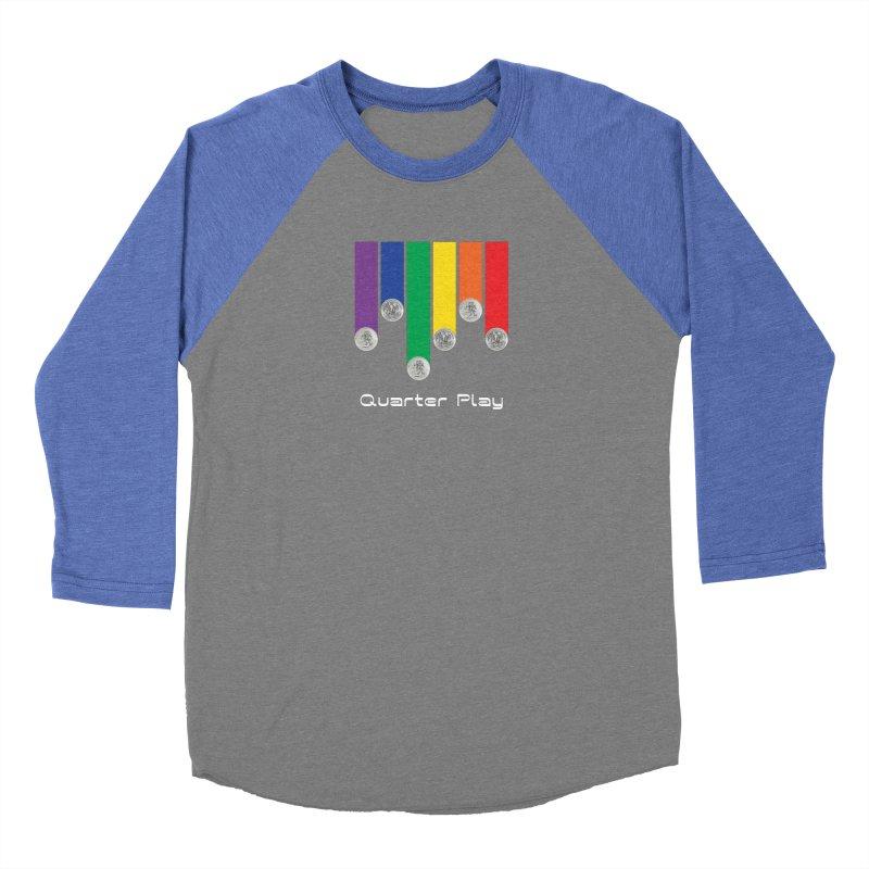 Quarter Play Women's Longsleeve T-Shirt by The Flipper Room Shop