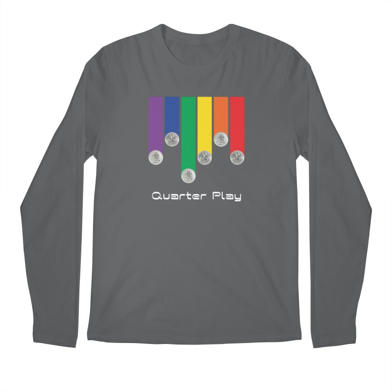 Quarter Play Men's Longsleeve T-Shirt by The Flipper Room Shop