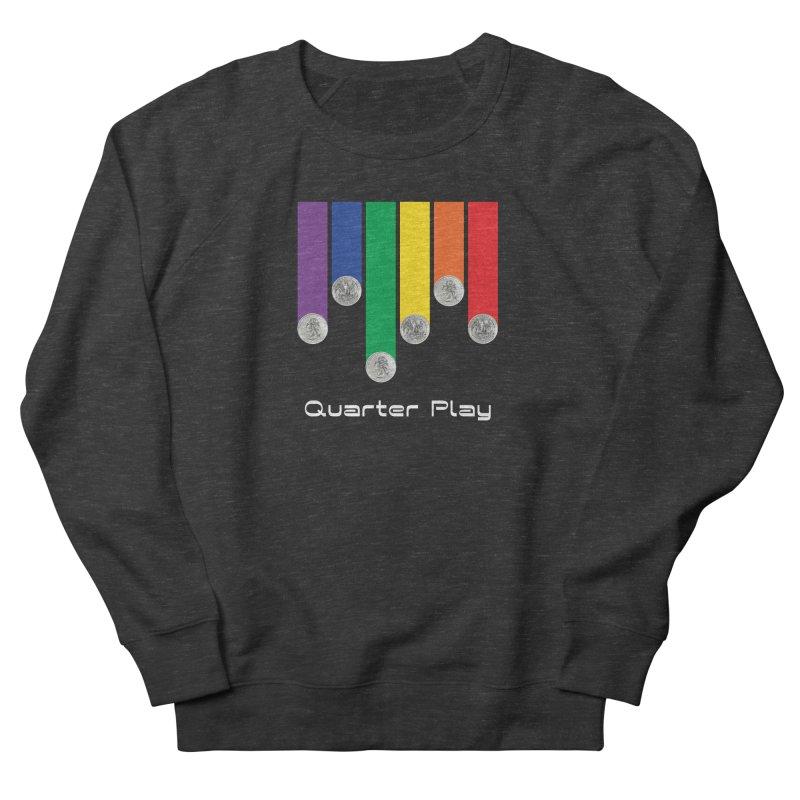 Quarter Play Women's Sweatshirt by The Flipper Room Shop