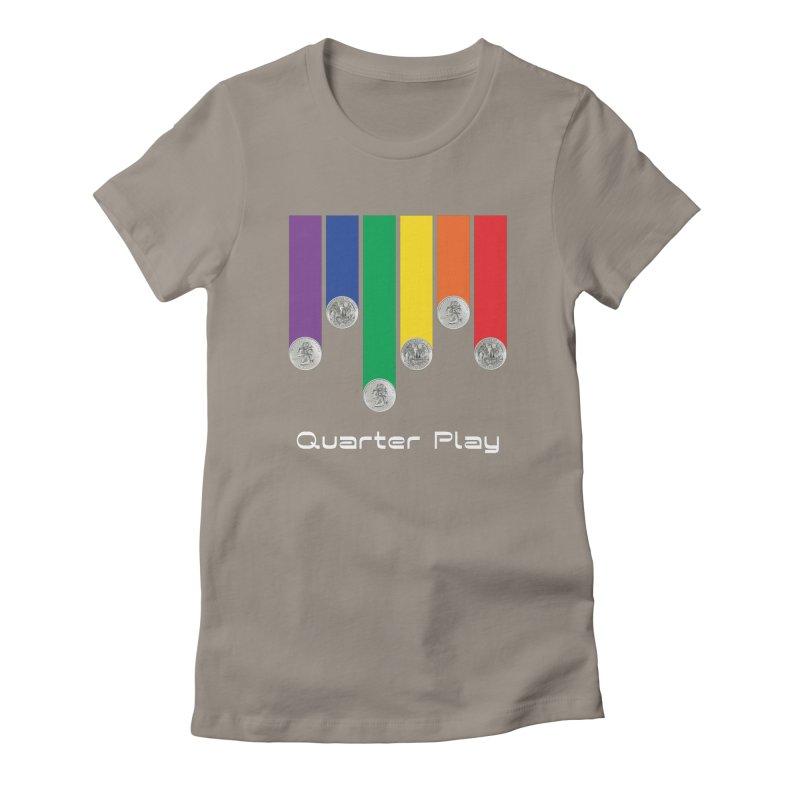 Quarter Play Women's T-Shirt by The Flipper Room Shop